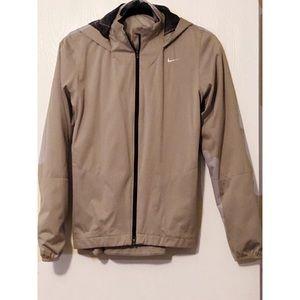 Nike golf windbreaker jacket in gray